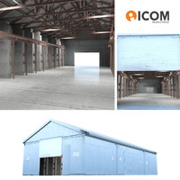 Warehouse detailed building