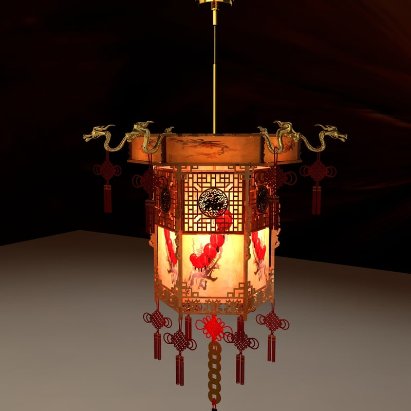 3d model chinese palace