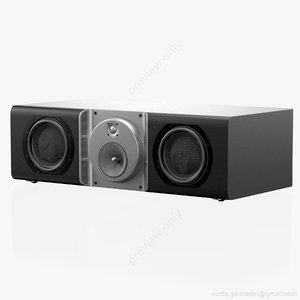 3d speaker bowers wilkins cc model