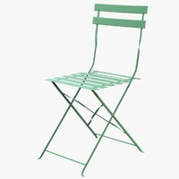 3d max folding garden chair guinguette