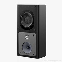 3d model speaker bowers wilkins 4