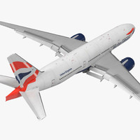 boeing 777-200 british airways 3d model
