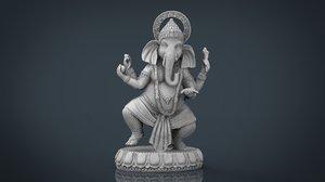 dancing ganesha s elephant 3d model