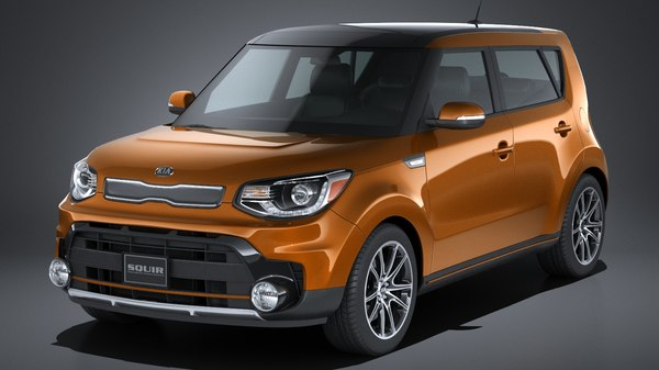 3d kia soul turbo model