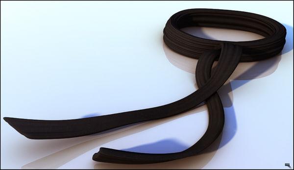 3d belt judo