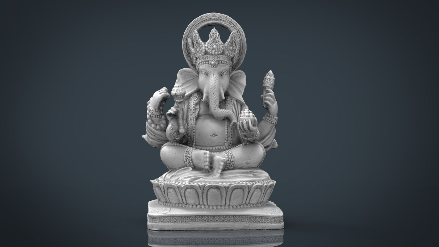 ganesh elephant s 3d model