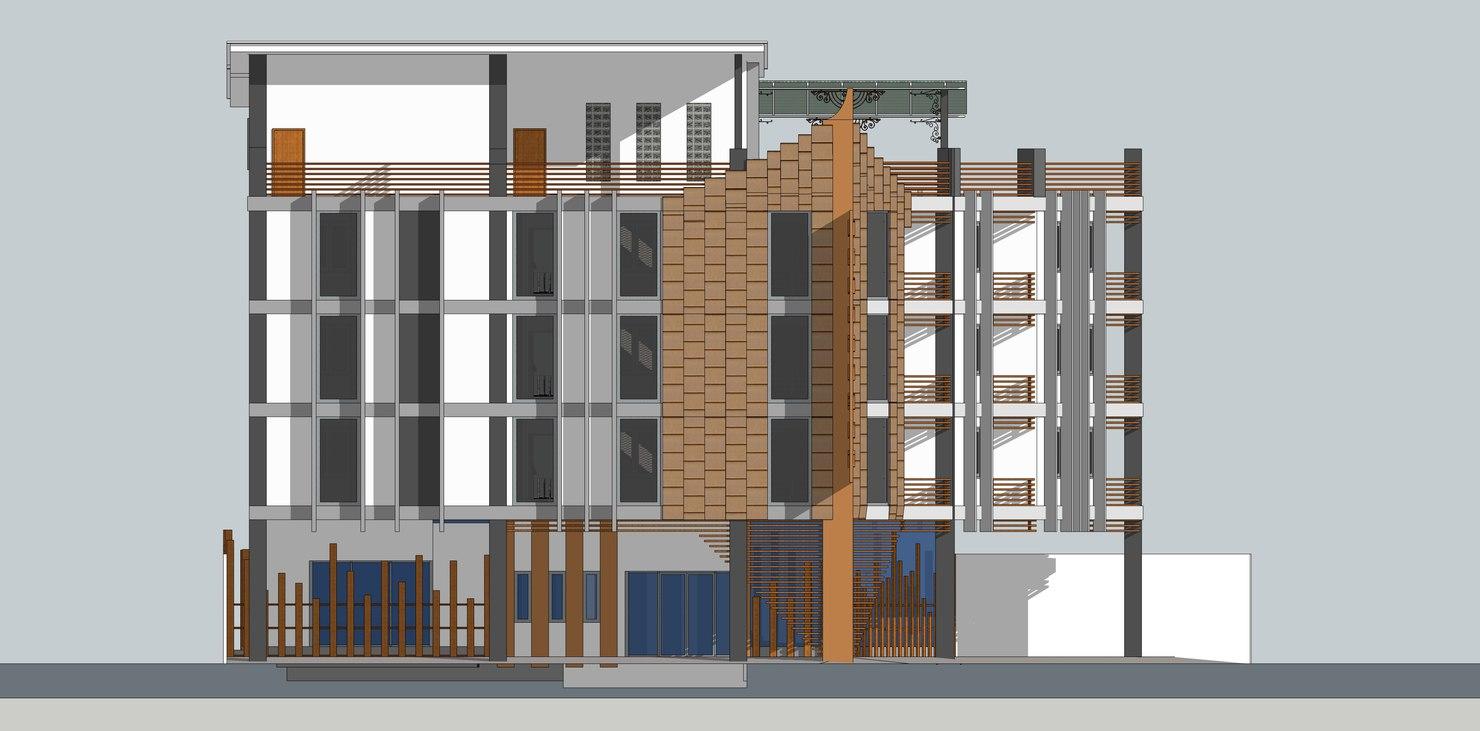 3d apartment 4 floors