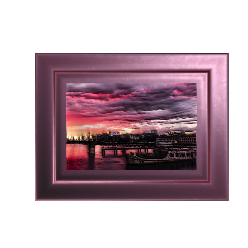 3d model framed wall picture