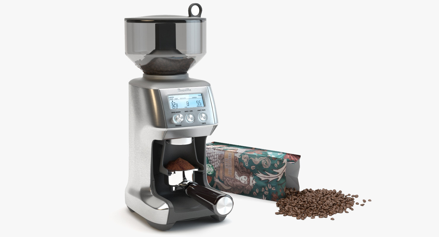 3d model coffee grinder scane