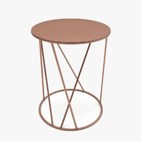 3d model freedoom spaghetti small table