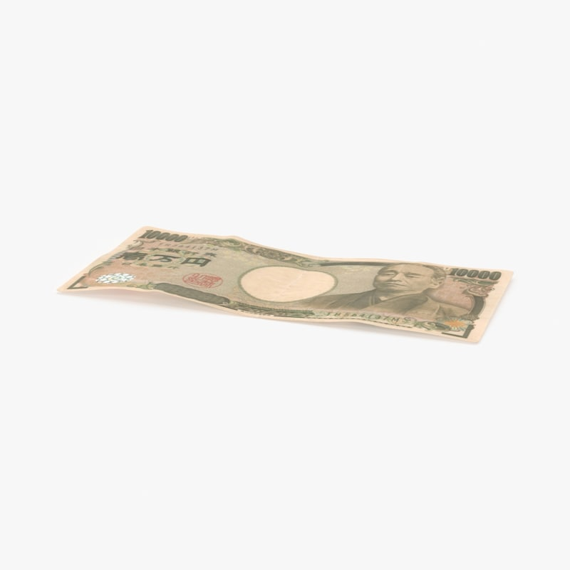 max 10000 yen note single