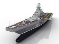 3d ussr project 1143 kiev