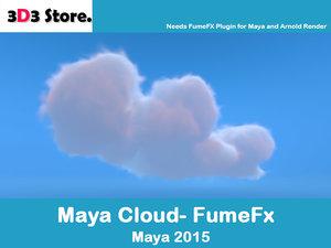 cloud fumefx 3d ma