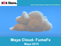 Maya FumeFx Cloud B
