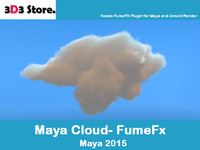 cloud fumefx 3d model