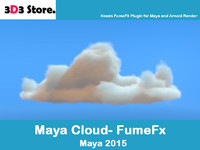 Maya FumeFx Cloud H
