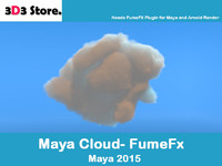 3d cloud fumefx model