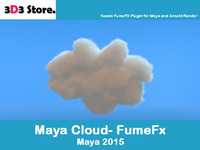 3d model cloud fumefx