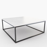 gilmore marble coffee table 3d max