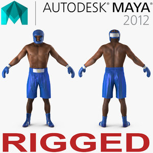 ma african american boxer rigged