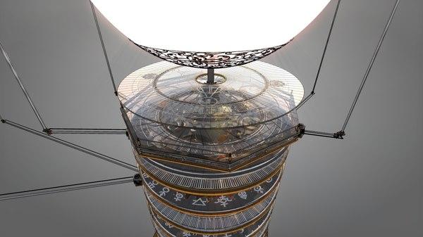 3d orrery solar gears