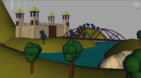 castel cartoon fbx