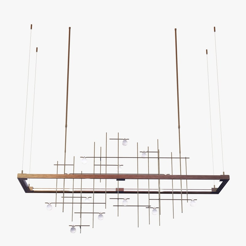 hubbardton forge spring led 3d 3ds