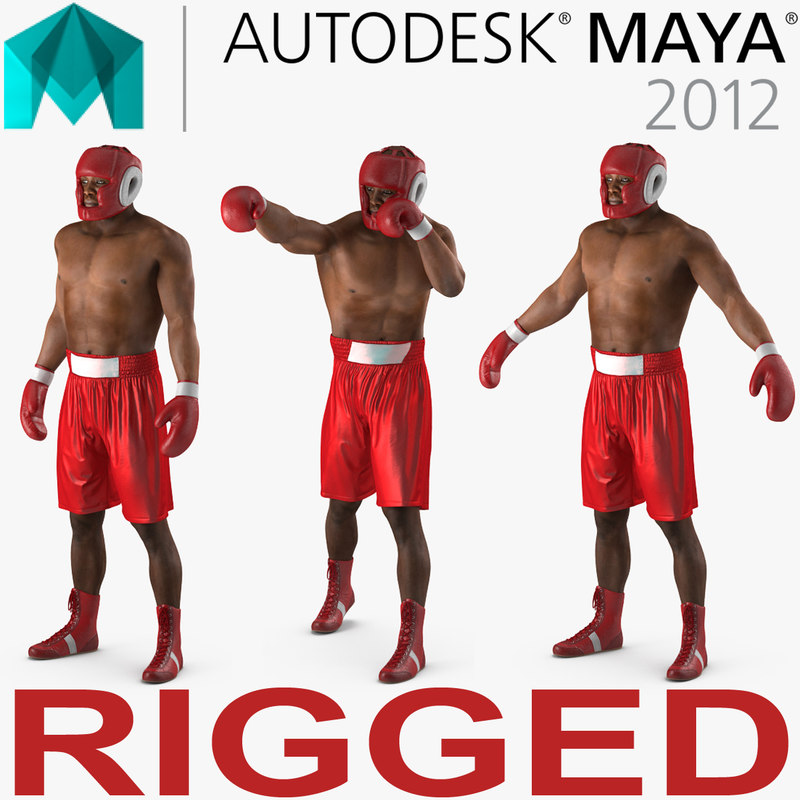 african american boxer red ma