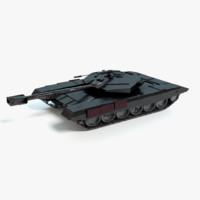 futuristic tank 3ds
