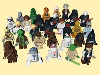 30 lego star wars 3d model