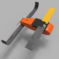 perdix drones 3d model