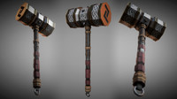 3d model fantasy metal warhammer