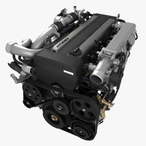 lite engine 1jz-gte 3d max