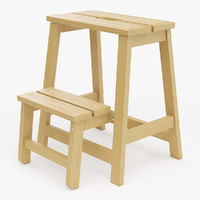 realistic step ladder stool max