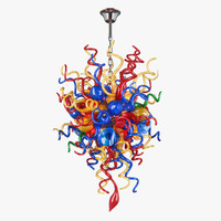 890100 vulcano lightstar hanging lamp 3d model