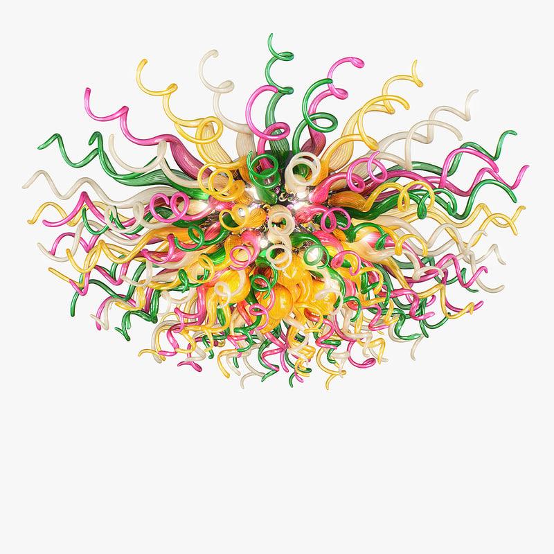 max 890106 vulcano lightstar chandelier