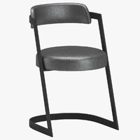 3d studio dining chair kelly model