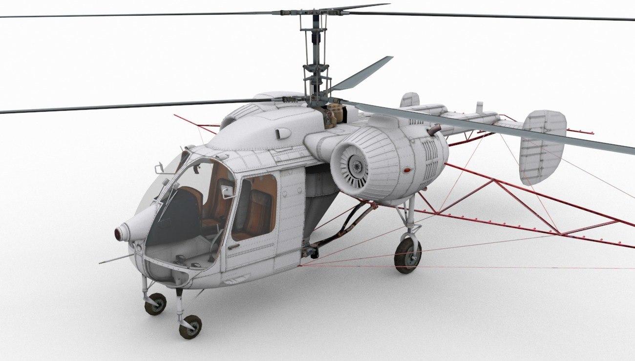 3d kamov ka-26 model