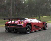 Koenigsegg CCGT Sport Car