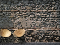 Stone and Brick Wall (450 x 250 cm) Medium