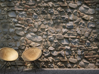Stone Wall (350 x 182 cm) Low