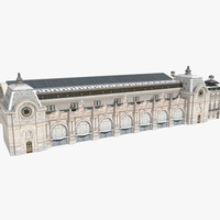 3d model musee d orsay museum