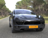 3ds suv sport car