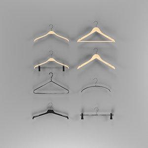 clothes hangers 3d model
