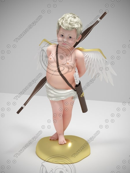 cupid angel s 3d max