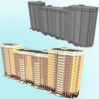 building moscow 3d max