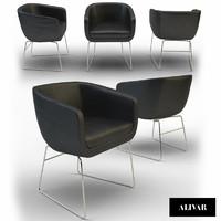 3d max chair alivar