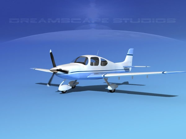 3d model propellers modern aircraft