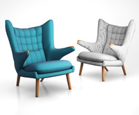 ap19 lounge chair 3d model