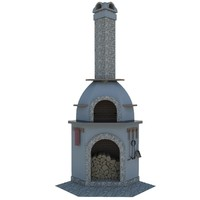 grill oven 3d max